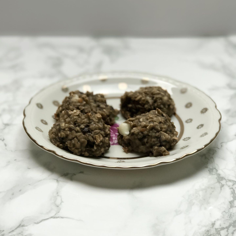 easy oatmeal lactation cookies
