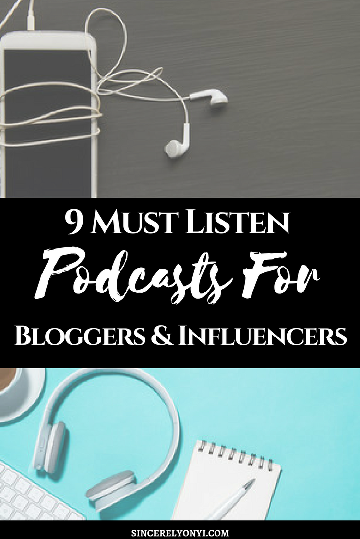 useful podcasts for bloggers african american lifestyle blogger