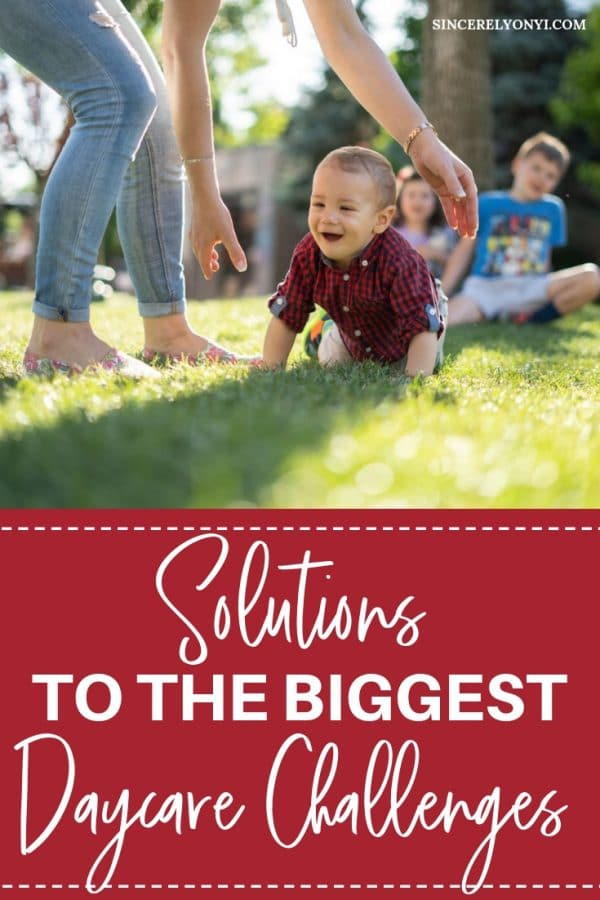 Finding daycare is sometimes hard to do as a working mom. Here are 5 of the biggest daycare challenges solved by hiring a nanny.