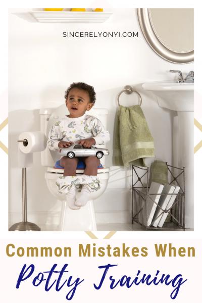 Common Potty Training Mistakes