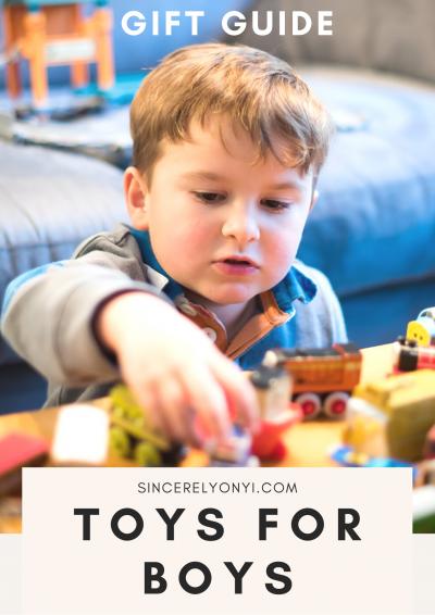 Toys For Boys Gift Guide