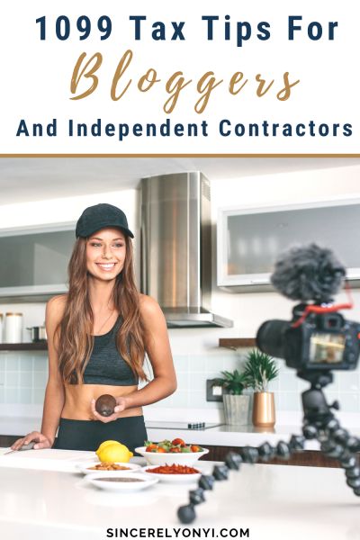 1099 Tax Tips for Bloggers and Independent Contractors _ Sincerely Onyi