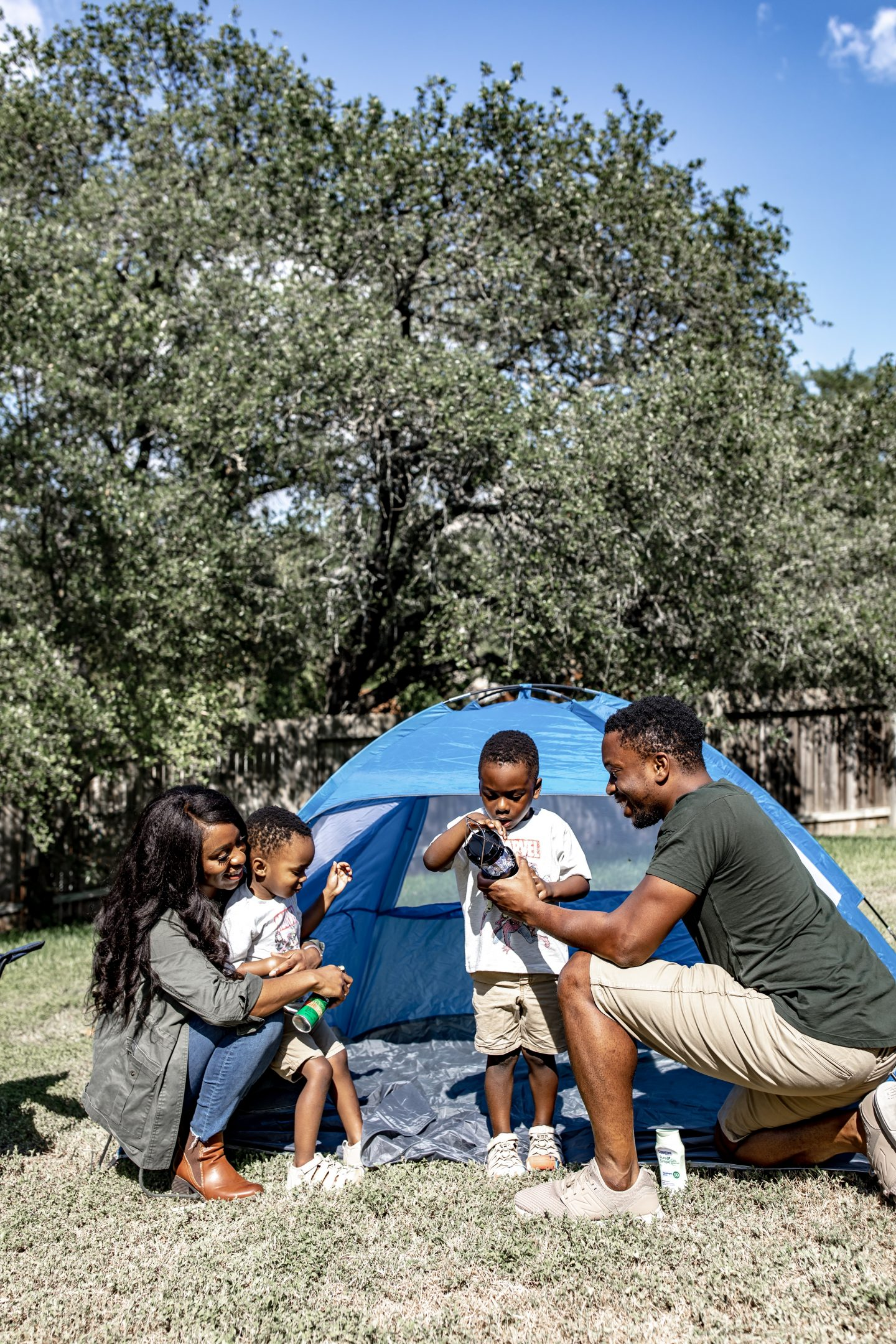 Quarantine Safe Ideas For The Kids: Glamping with KEEN Kids