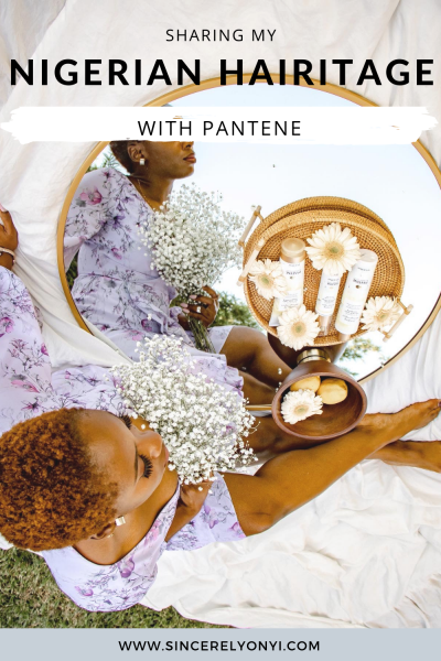 Sharing my Nigerian Hairitage and the amazing, nourishing results from Pantene Nutrient Blends #ad #TWA #naturalhair #afro #blackhair #shorthair