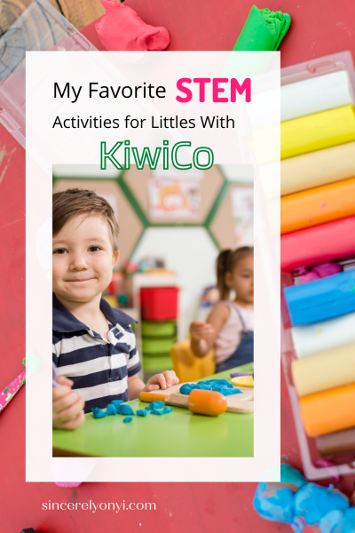 My Favorite STEM Activities for Littles With KiwiCo